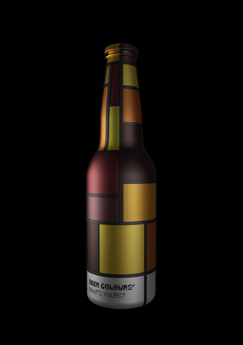 Beer colours Mondrian 2
