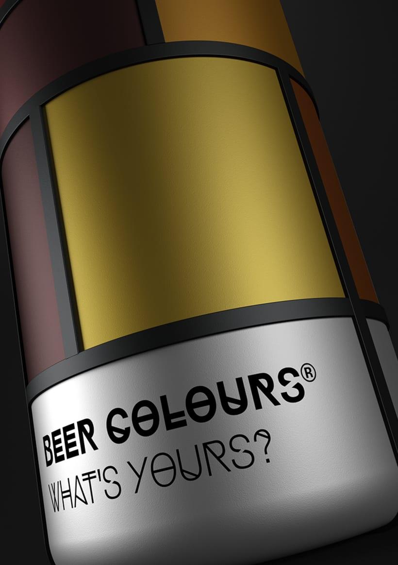 Beer colours Mondrian 12