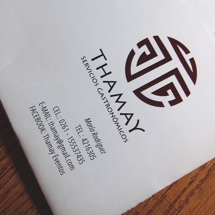 Thamay | Sistema de identidad 2