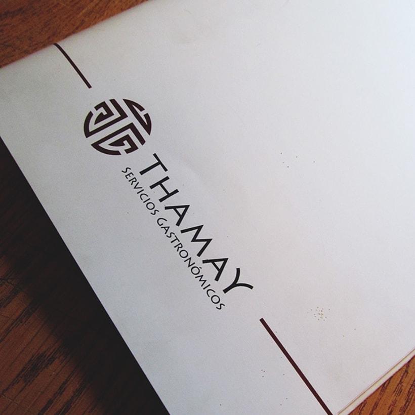 Thamay | Sistema de identidad 1
