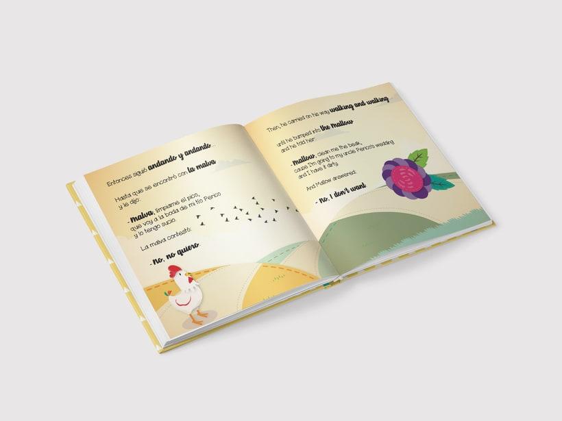 "Libro infantil ""El gallo Kirico"" 2"