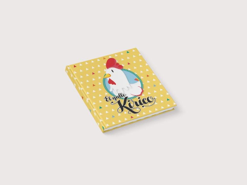 "Libro infantil ""El gallo Kirico"" 0"