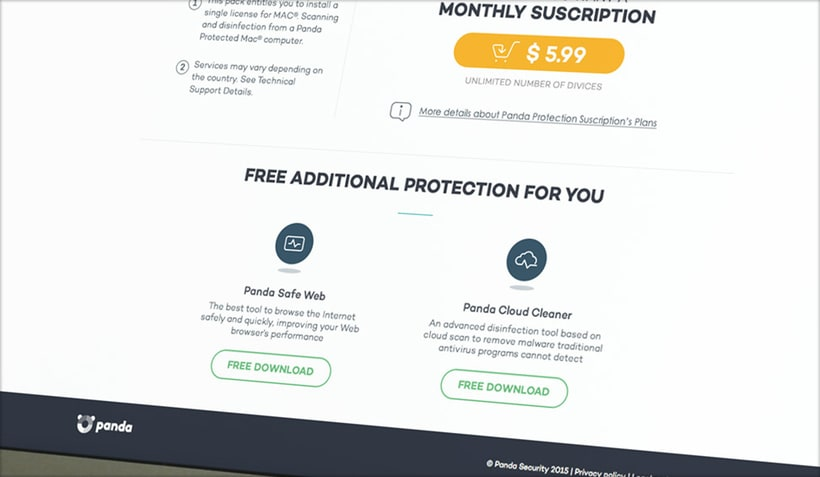 Panda Security · Product Page 2