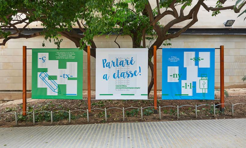 """Exposició """"Parlaré a classe"""" - Palau Robert 0"""