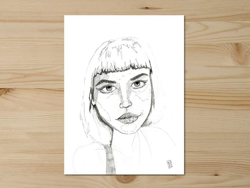 Pencil series / -1
