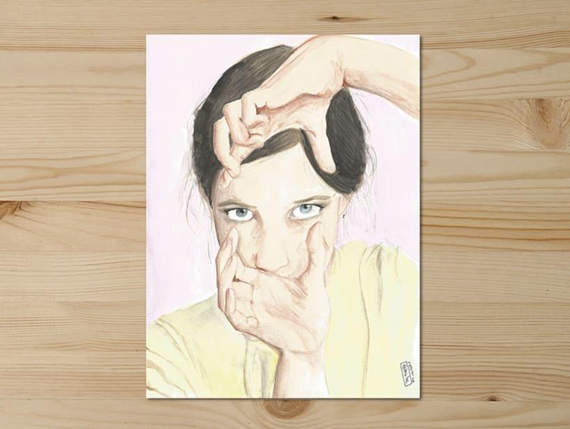 Portraits series // -1
