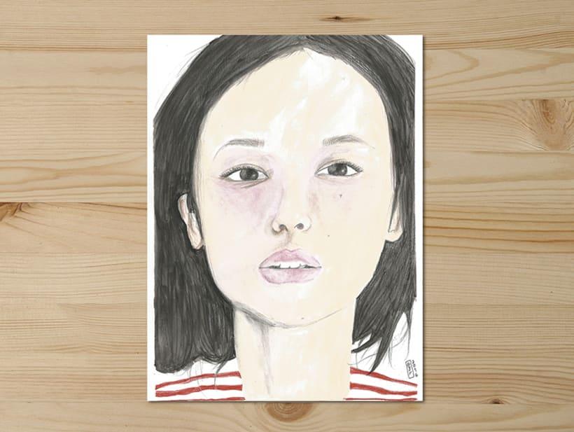 Portraits series // 0