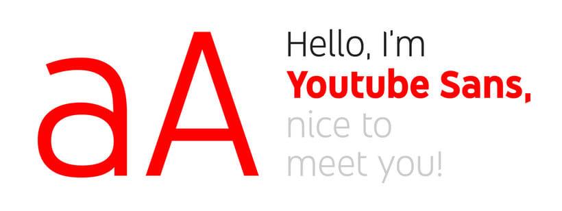 Youtube estrena su propia tipografía: Youtube Sans 1