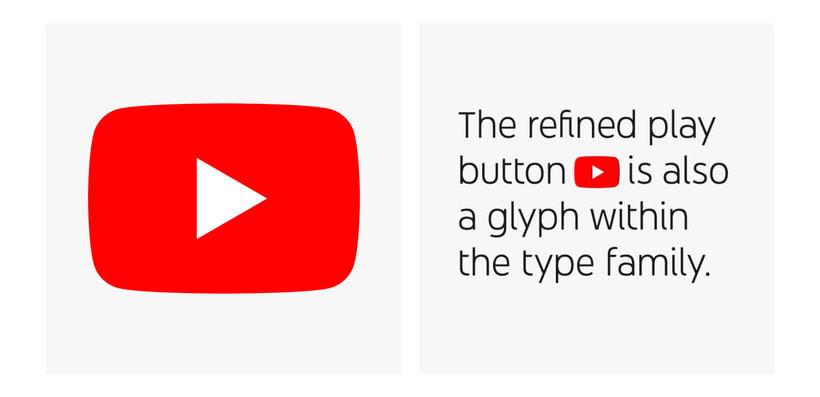 Youtube estrena su propia tipografía: Youtube Sans 7