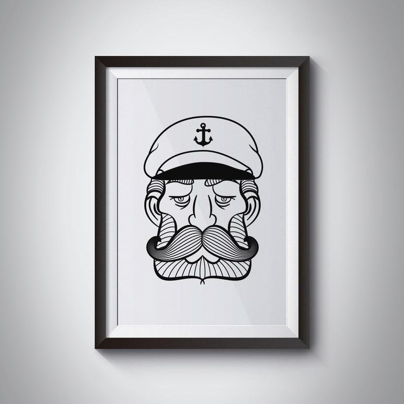 Ilustración marinero 0