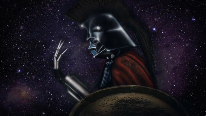 Vader Cylon Espartano -1