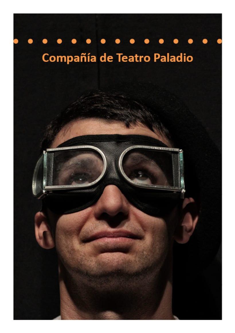 Paladio Arte (Diseño identidad y dossier de teatro) 1