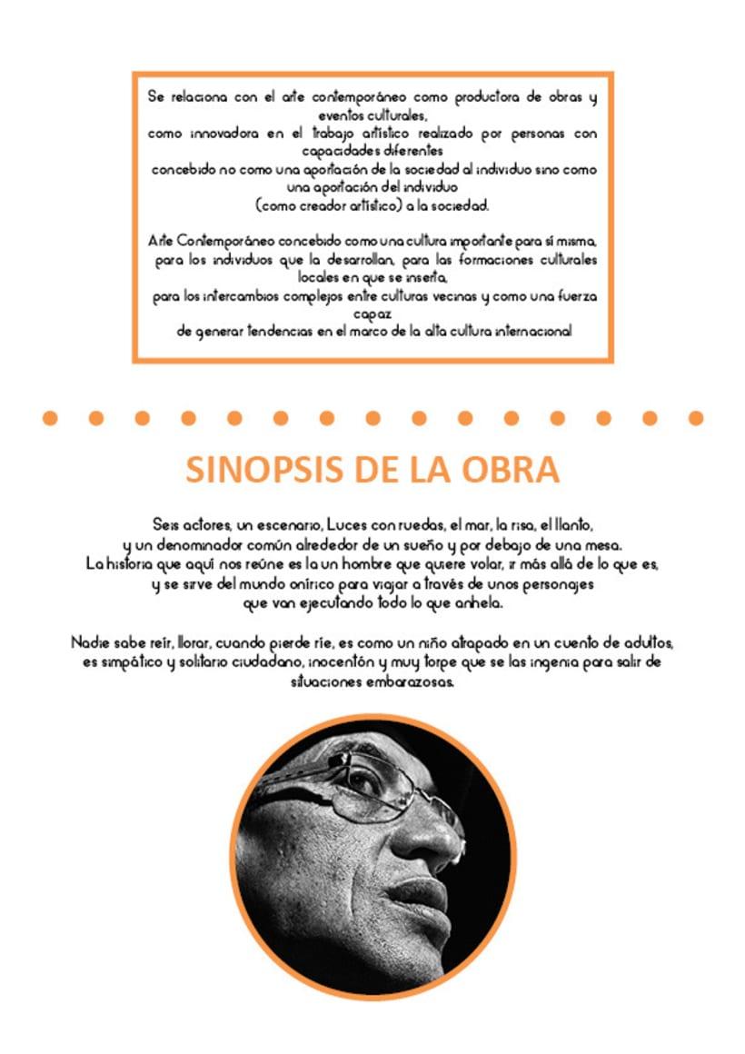 Paladio Arte (Diseño identidad y dossier de teatro) 2
