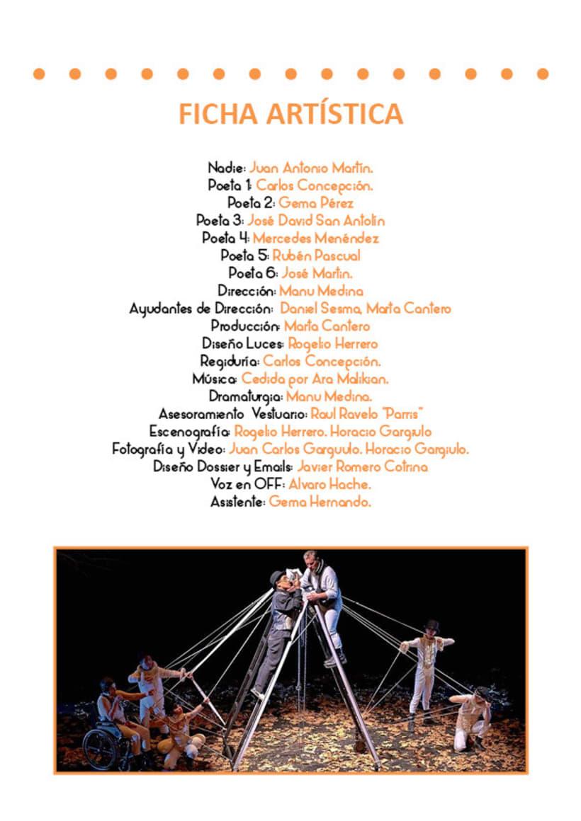 Paladio Arte (Diseño identidad y dossier de teatro) 5