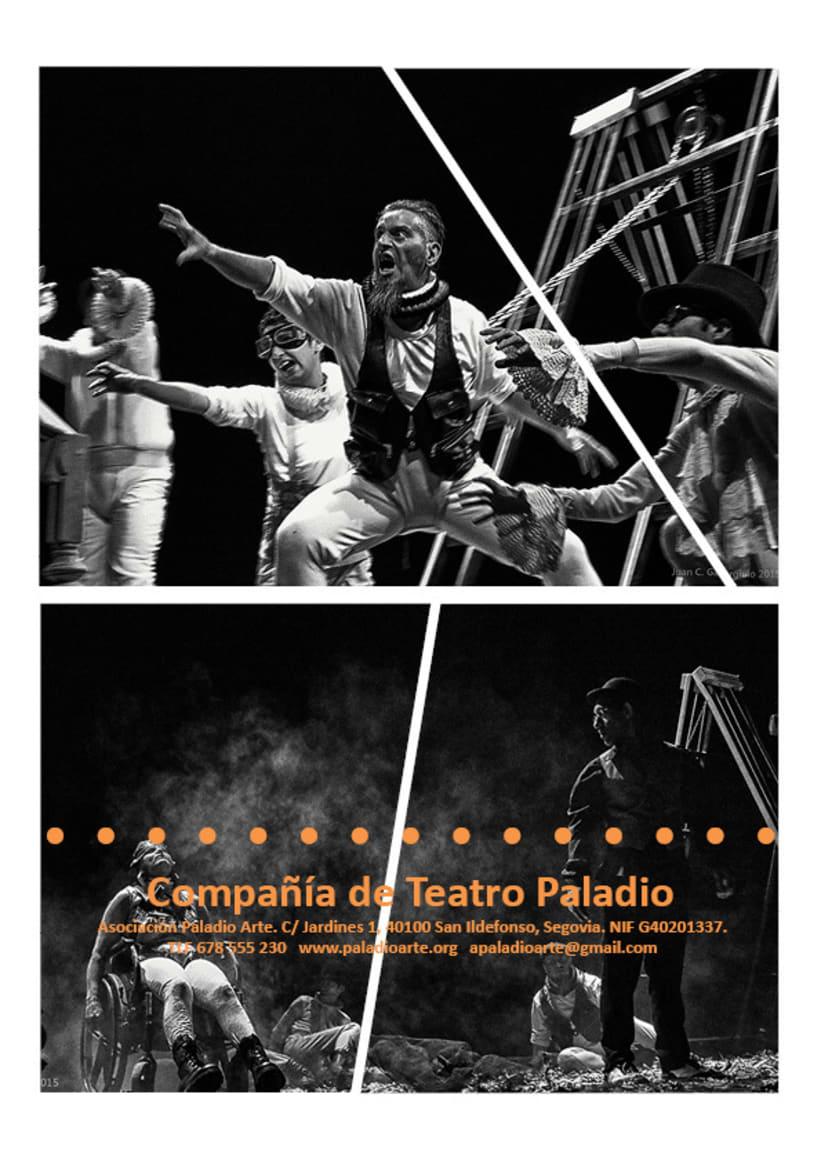 Paladio Arte (Diseño identidad y dossier de teatro) 8