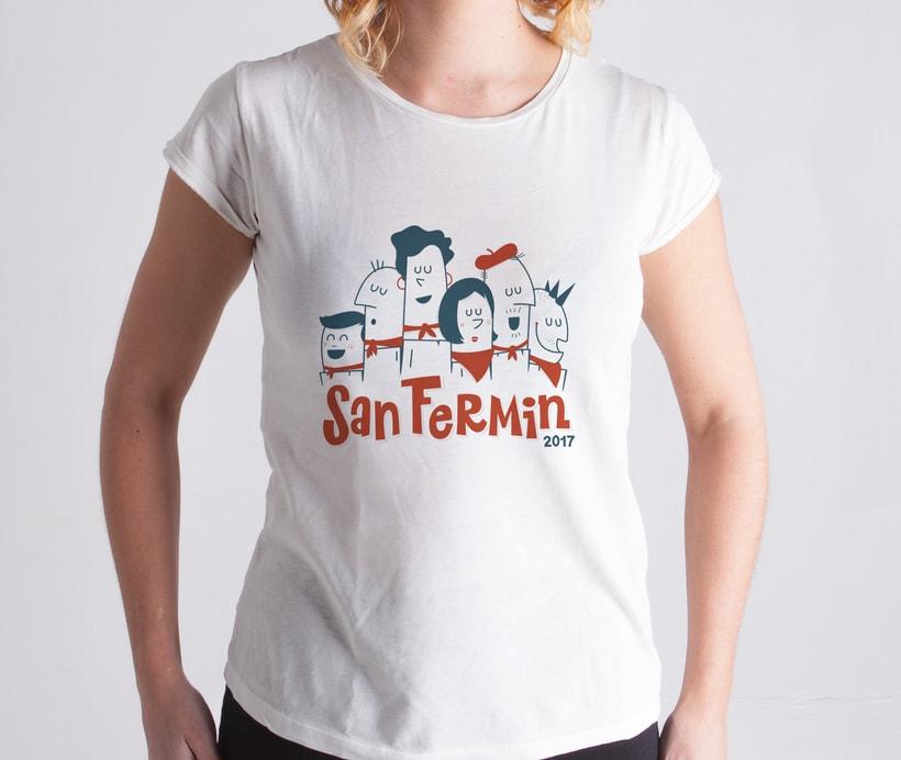 Camiseta sanferminera 1