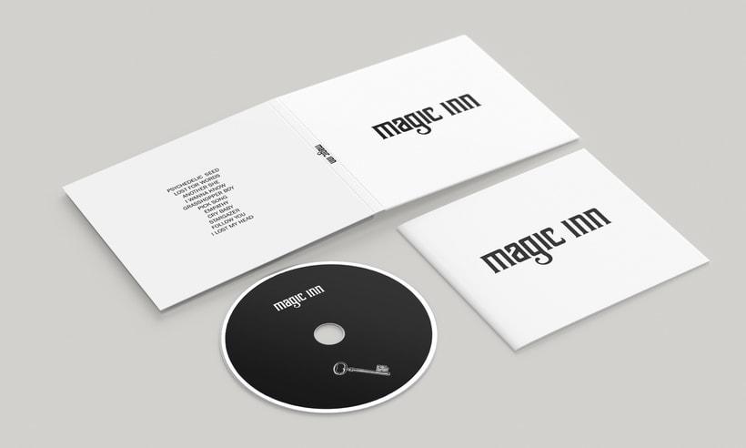 Packaging del disco debut de Magic Inn 1