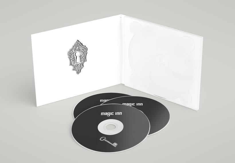 Packaging del disco debut de Magic Inn 2