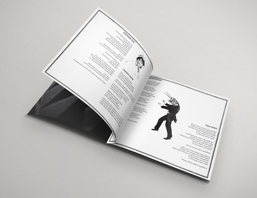 Packaging del disco debut de Magic Inn 5