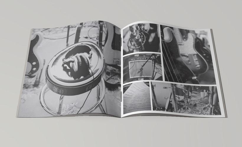Packaging del disco debut de Magic Inn 6