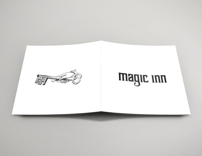 Packaging del disco debut de Magic Inn 3