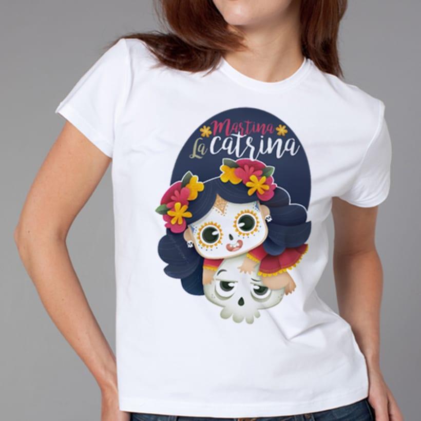 Martina La Catrina. Ilustración infantil 4