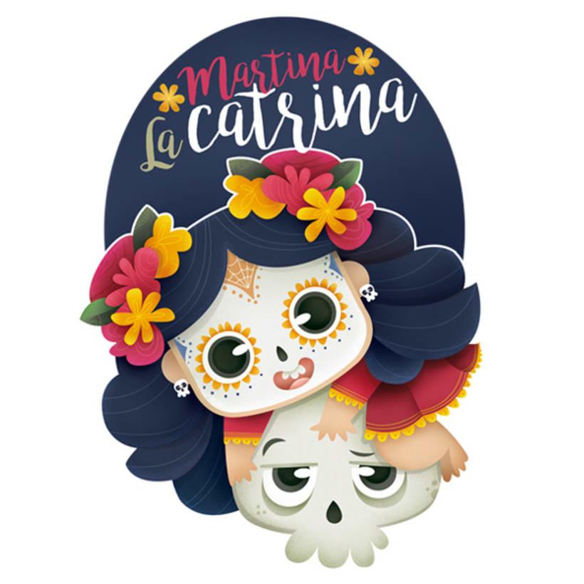 Martina La Catrina. Ilustración infantil 2