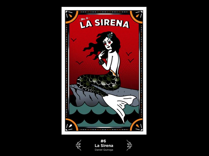 Lotería Mexicana Ilustrada 6