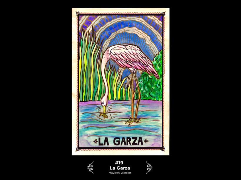 Lotería Mexicana Ilustrada 8
