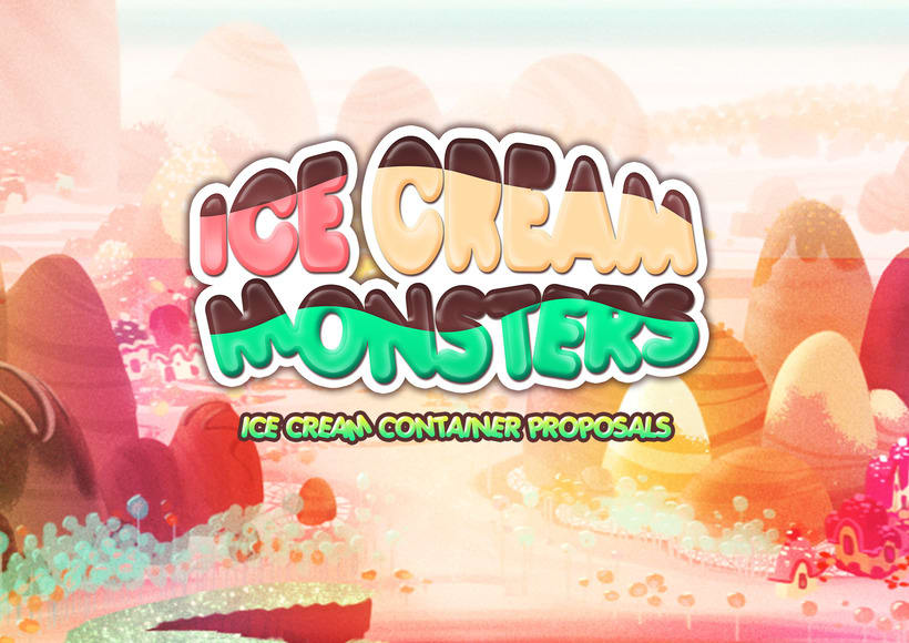 ICE CREAM MONSTERS (Ice cream container proposals) -1