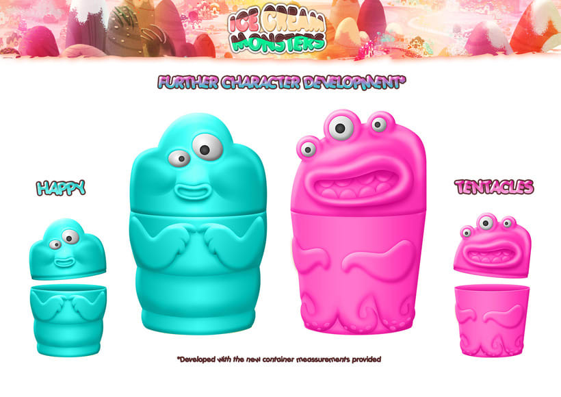 ICE CREAM MONSTERS (Ice cream container proposals) 1