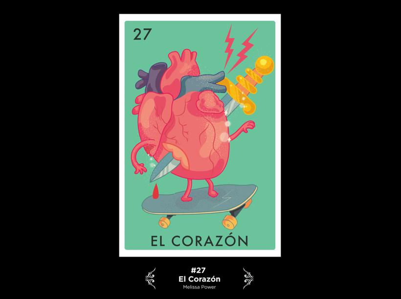 Lotería Mexicana Ilustrada 13