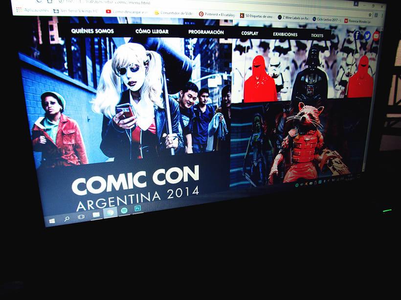 Prototipo Comic Con Arg. | web 1
