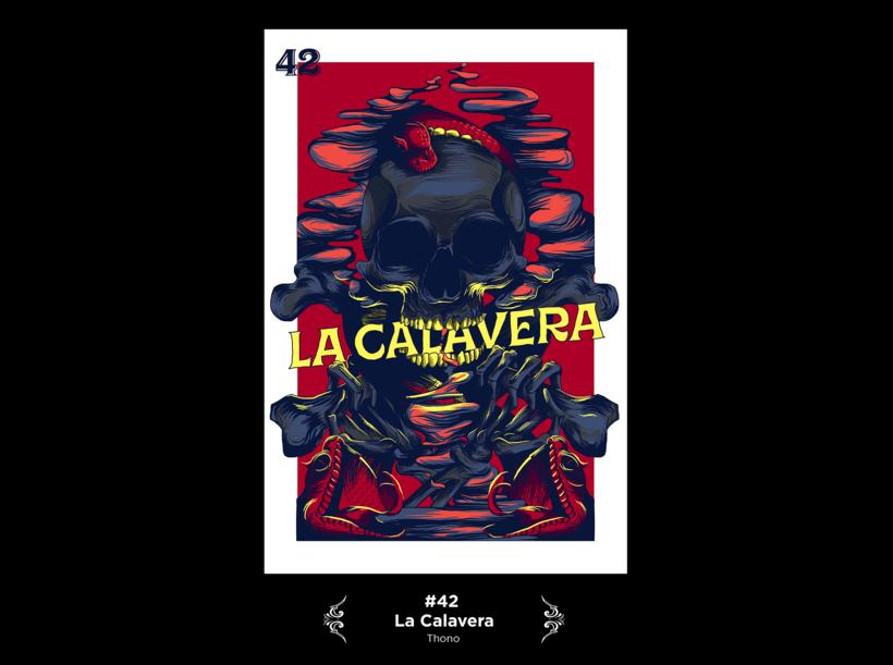 Lotería Mexicana Ilustrada 23