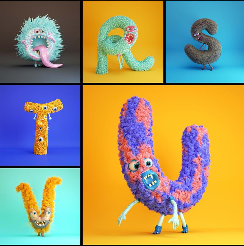 Furry Alphabet 4