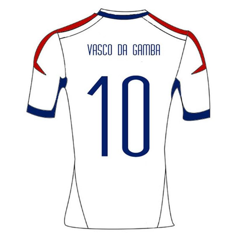 Vasco Da Gamba | Diseño de remeras 3