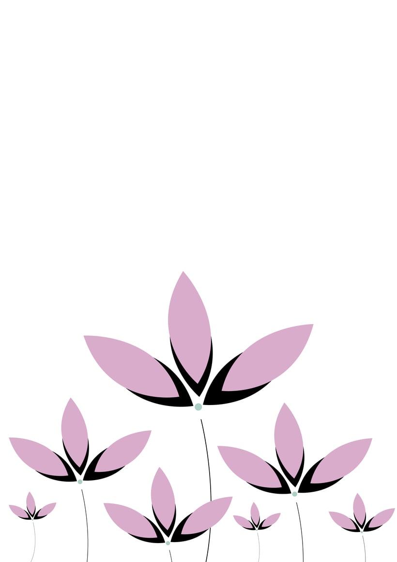 Flores vectoriales 2