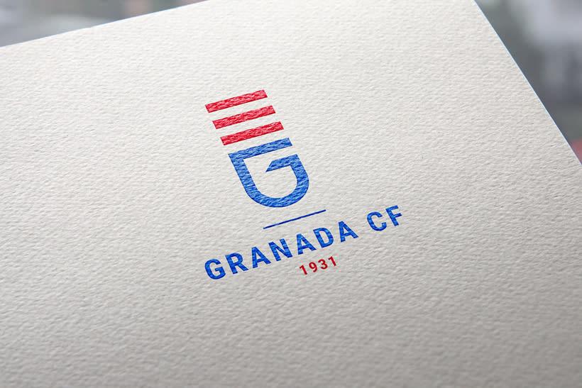 Rediseño Escudo Granada CF 0