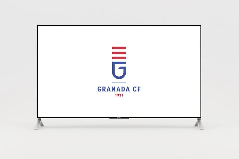 Rediseo Escudo Granada CF  Domestika