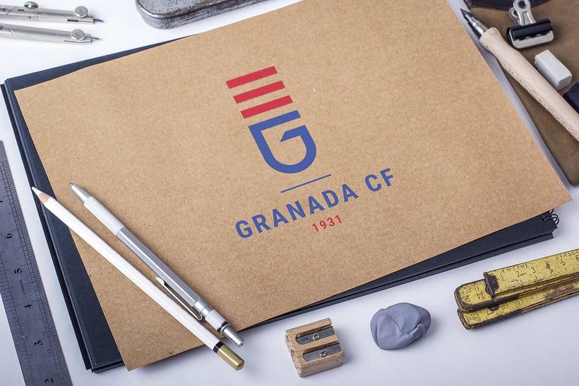 Rediseño Escudo Granada CF 2