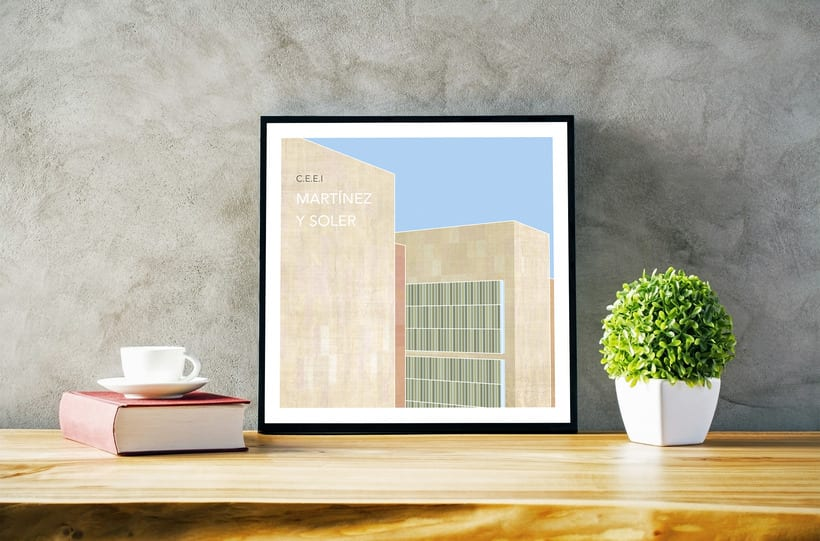 Ilustraciones de Arquitectura Granadina 2