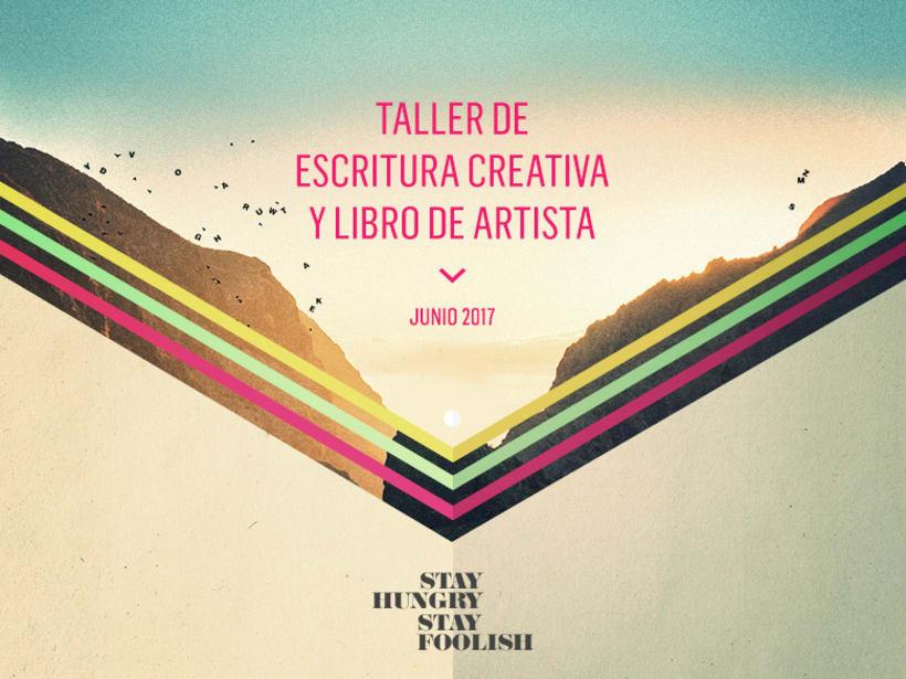 Taller de escritura creativa y libro de artista 1
