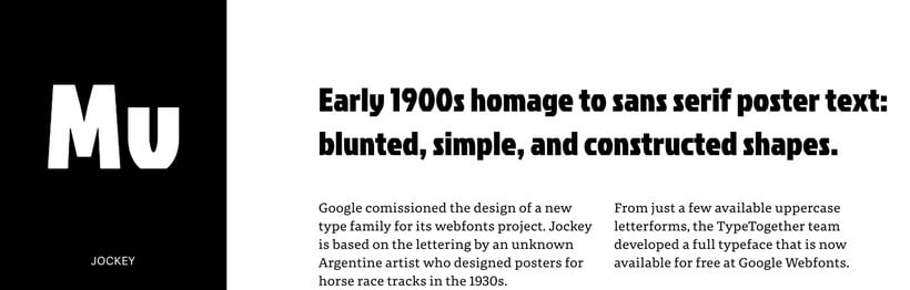 20 tipografías gratuitas made in España y Latinoamérica 9