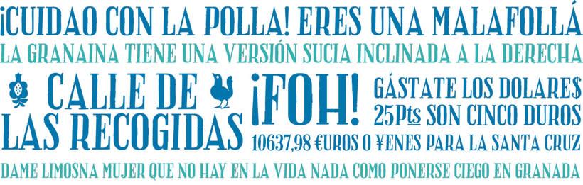 20 tipografías gratuitas made in España y Latinoamérica 12