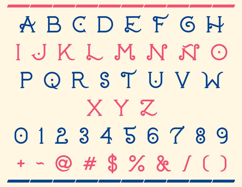 20 tipografías gratuitas made in España y Latinoamérica 15