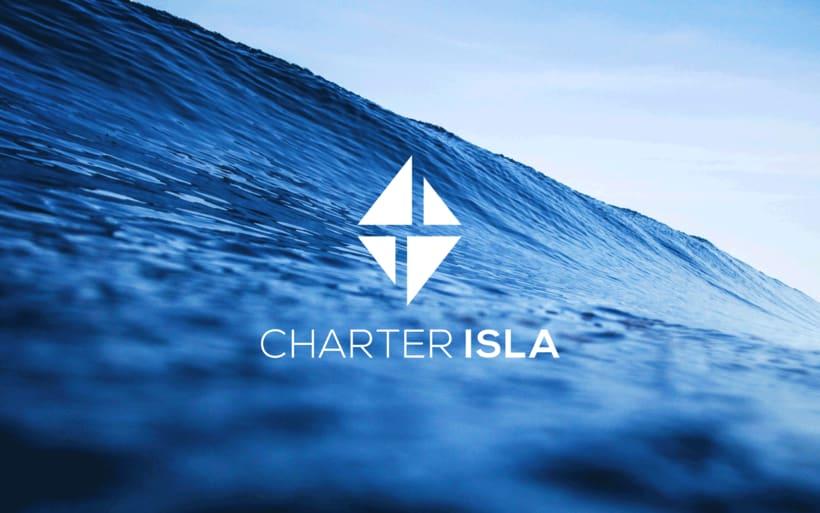 Branding e imagen corporativa - Charter Isla 0