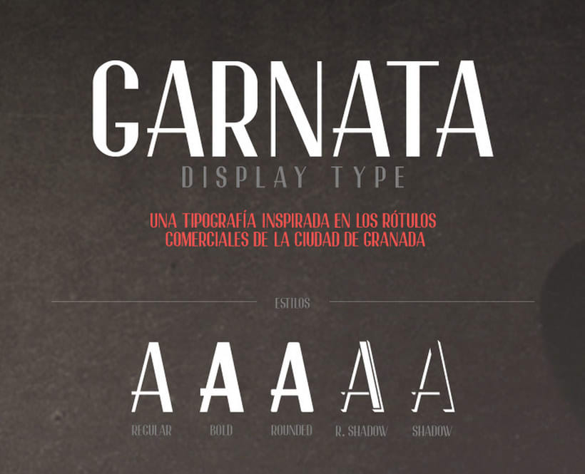 20 tipografías gratuitas made in España y Latinoamérica 17