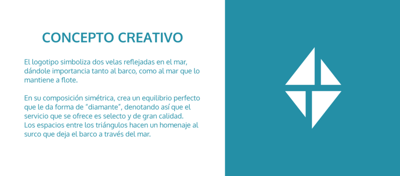 Branding e imagen corporativa - Charter Isla 2