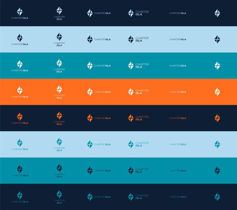Branding e imagen corporativa - Charter Isla 3