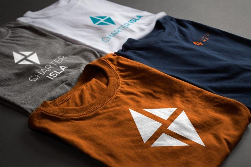 Branding e imagen corporativa - Charter Isla 7